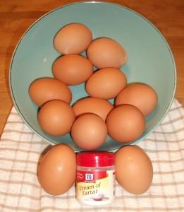 Eggs and Cream of Tartar