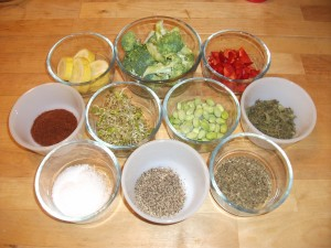 Mise En Place - Ingredients