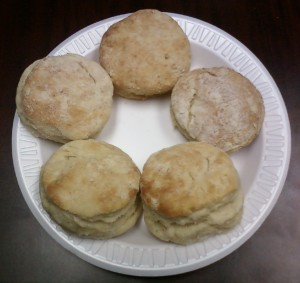 Biscuits - Baking Powder Experiment