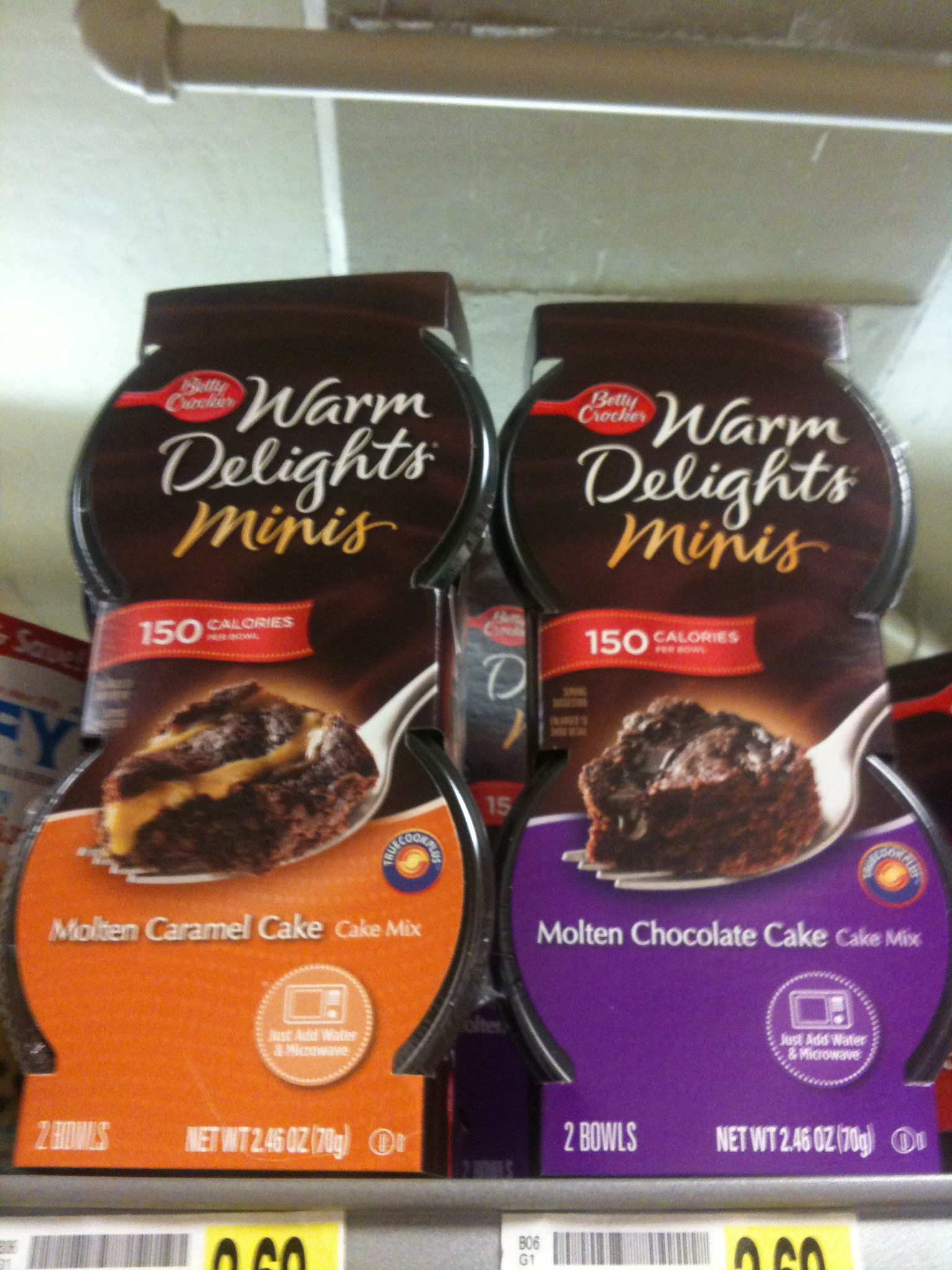 Warm Delights From Cake Mix