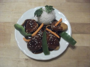 Chicken with Teriyaki Sauce