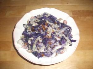 Crispy Cabbage Salad