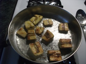 Plantains - frying