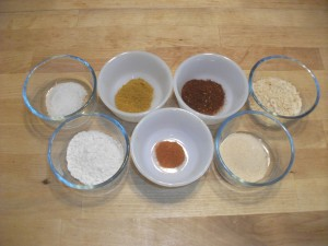 Taco Seasoning Mix - Mise En Place