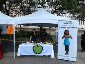 Houston Food Bank Booth