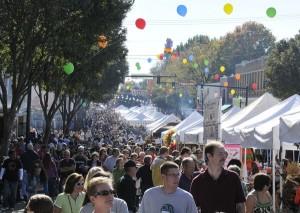 BBQ Festival Crowd