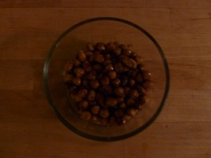 Roasted Chick Peas - Hummus