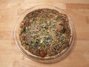 Spinach Swiss Quiche
