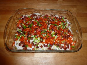 Veggie and Bacon Layer