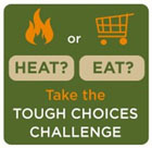 Heat or Eat - Take the tough choices challenge