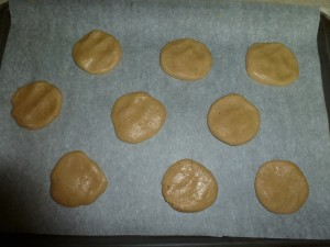 Star Anise Cookies ready for baking