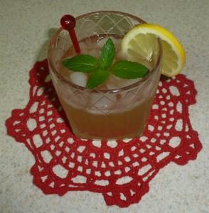 Ginger Limoncello Spritzer